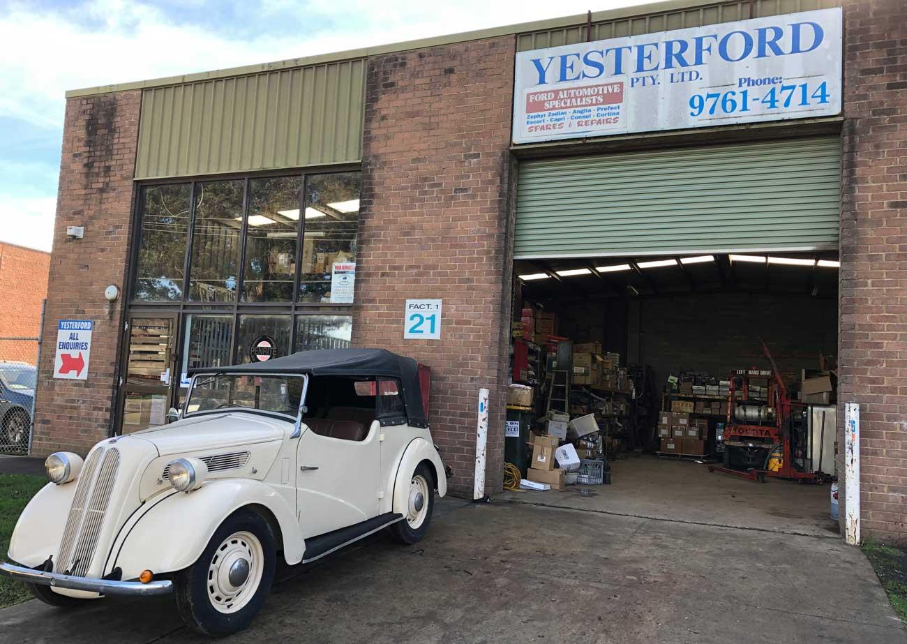 ford workshop vintage
